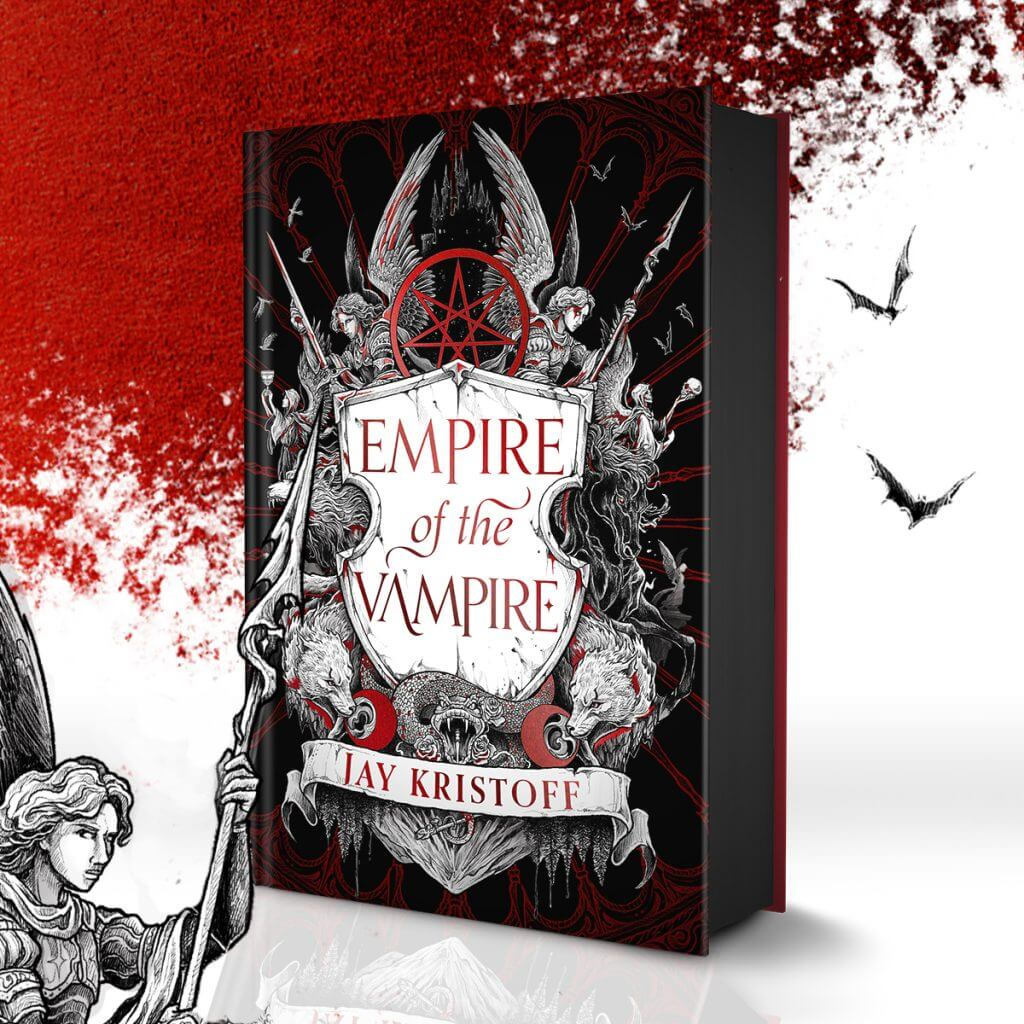 EMPIRE OF THE VAMPIRE UK /AUS COVER giveaway - Jay Kristoff